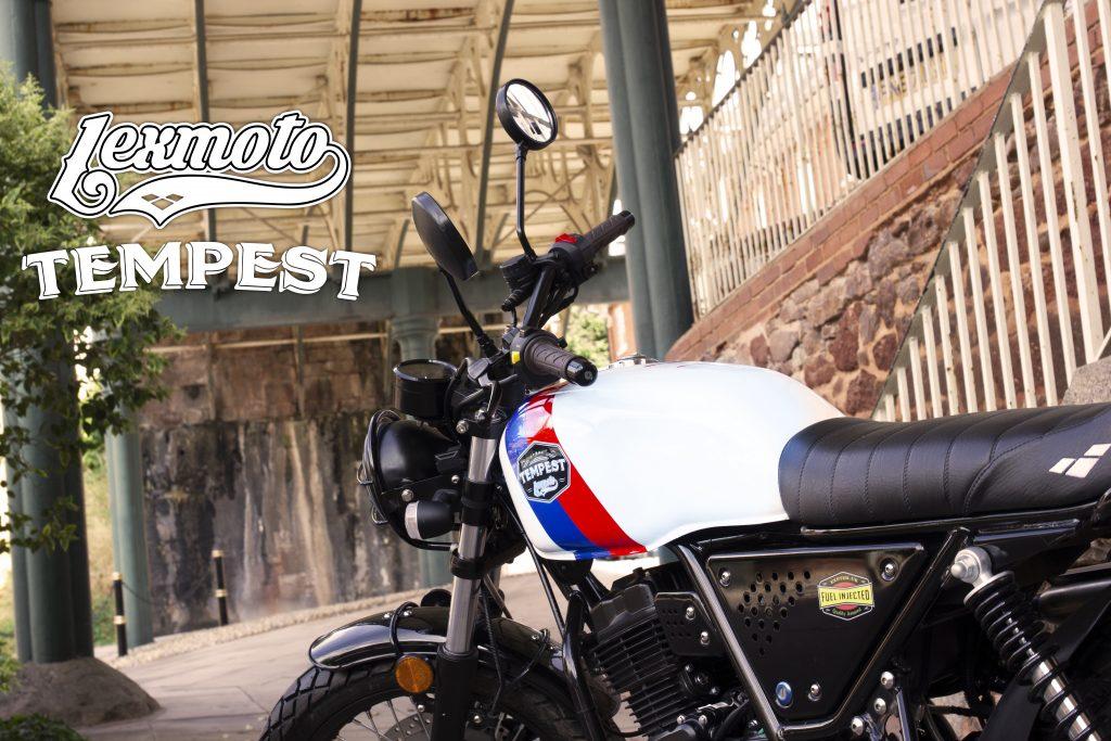 Lexmoto Tempest 125cc cover